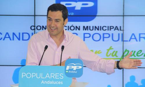 El presidente del PP-A, Juanma Moreno. / EP