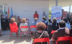 Susana Díaz visita el nuevo centro polivalente de Proyecto Hombre