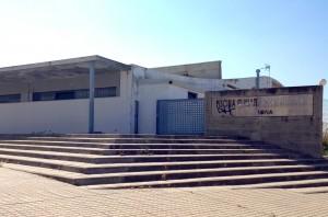 Entrada al complejo gestionado por ESAN, empresa madrileña. Foto: E. García