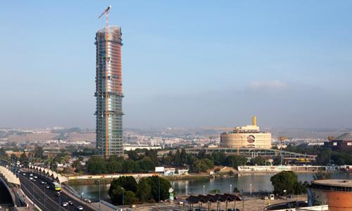 La Torre Pelli el pasado mes de mayo. / EFE