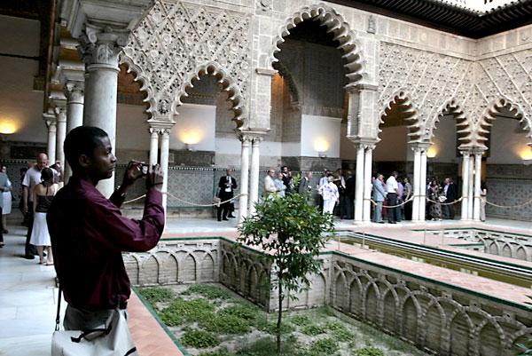Vista del Alcázar de Sevilla. / Javier Díaz