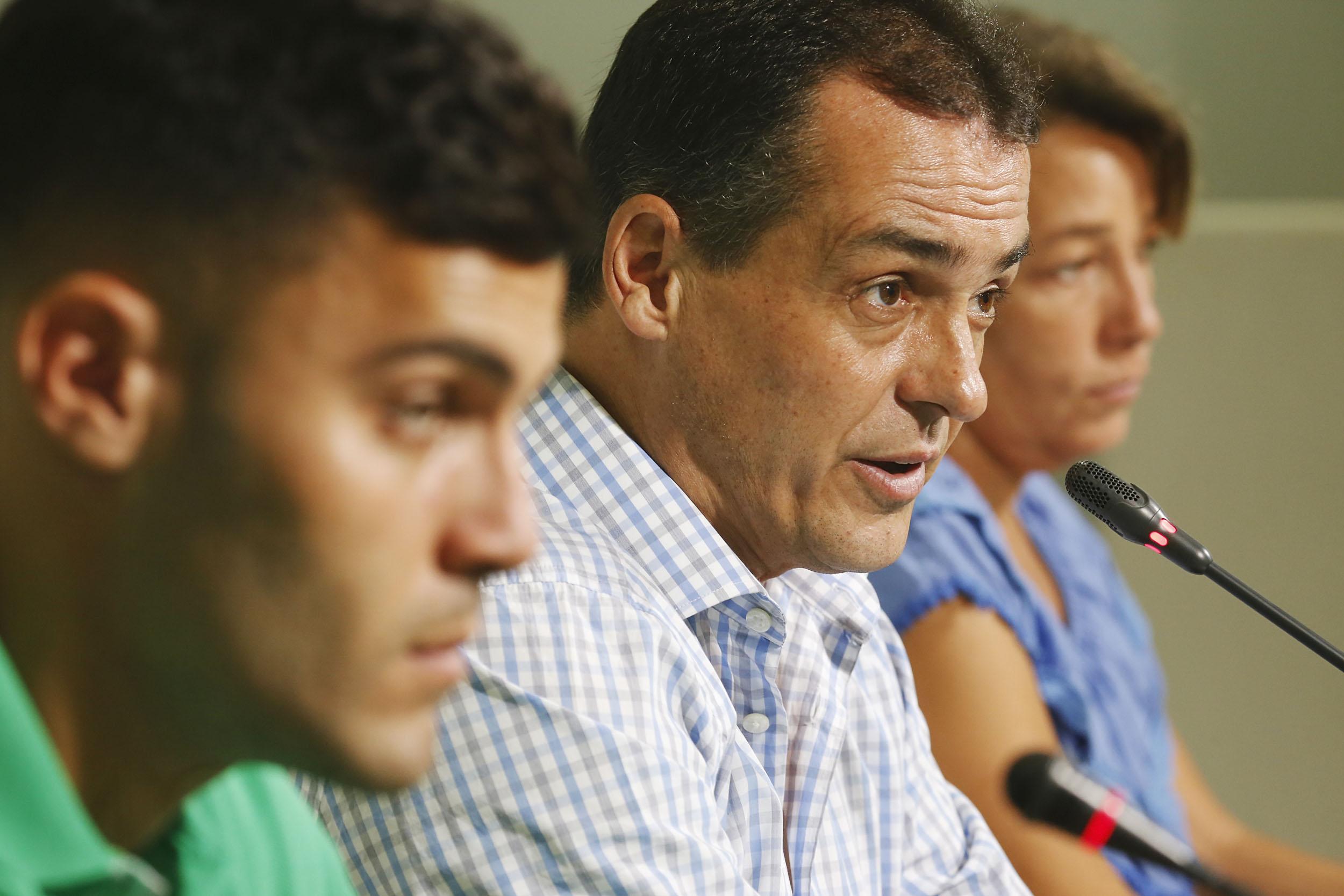Sevilla 07/07/2014 Presentacion de Bruno, nuevo fichaje del betisFOT