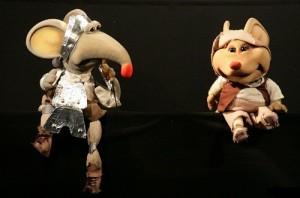 'Mi amigo Don Quijote', espectáculo de títere de la compañía Arte Fusión. Foto:  El correo
