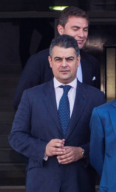 Camilo Puerto y, detrás, Cayetano García de la Borbolla / Carlos Hernández