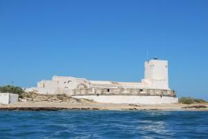 Vista general del Castillo en la Isla Foto: Laura López