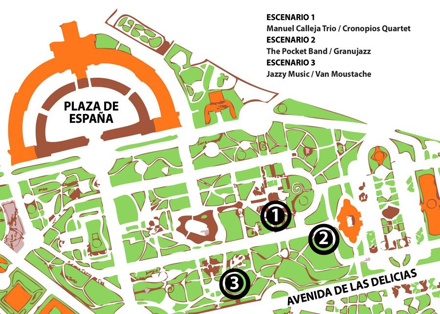 Jazz in Green en el Parque de María Luisa