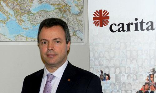 Jorge Nuño, secretario general de Cáritas Europa, es el máximo responsable de la actividad de la organización en el Continente. / Foto: El Correo