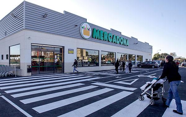 Un supermercado Mercadona. / El Correo