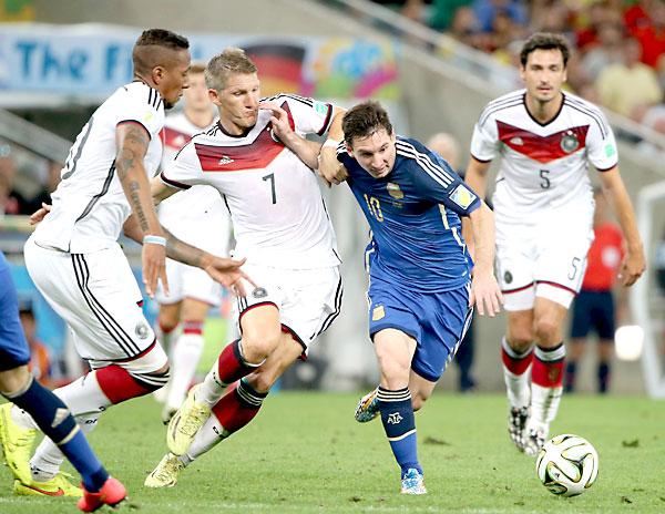 Messi no tuvo una buena noche. / EFE