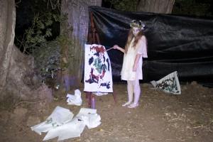 Lucía, personaje clave en la historia de La Noche del Terror.