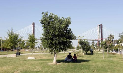 El Parque Guadaíra ya tiene luz verde. Foto: J.M. Paisano