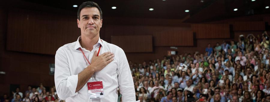 El nuevo secretario general del PSOE, Pedro Sánchez. / EFE