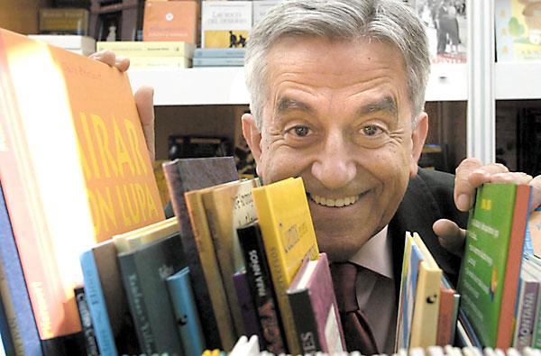 Rodríguez Almodóvar, un autor prolífico que salta a las tablas. / Javier Díaz