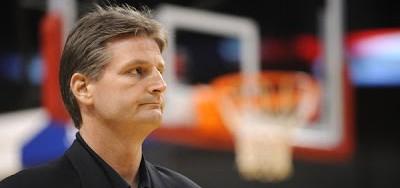 Scott Roth, durante un partido de la NBA