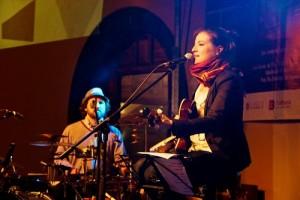 Thaïs Morell en un concierto en el Festival de Jazz de La Laguna. Foto: Miguel A. Brito