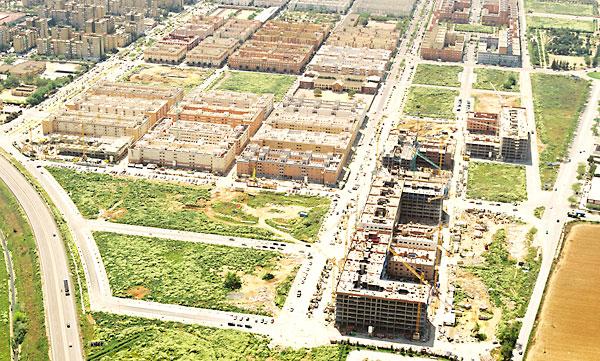 Desde 2008 se han construido en la capital sevillana 65 promociones con un total de 5342 viviendas.