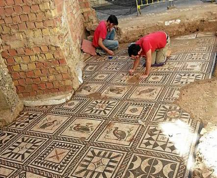 Resultado de imagen de Ilipa Magna, mosaico