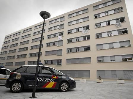 Las VPO de Nuevo Amate, que fueron ocupadas el pasado mes de enero. / Pepo Herrera