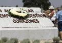 Acto conmemorativo del aniversario del accidente del avión de Spanair. /EFE