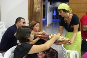 Un grupo de visitantes a las jornadas gastronómicas el pasado año. Foto: El Correo
