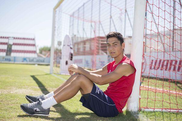 Sevilla 08 08 2014: Entrevista a Borja Lasso y Giraldez.<br />  FOTO:J.M.PAISANO