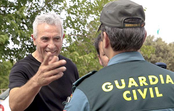 Diego Cañamero, portavoz del SAT. / EFE