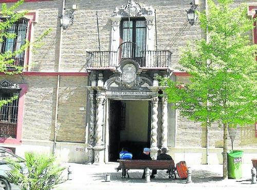 Edificio que ocupa actualmente el Colegio Notarial de Andalucía.