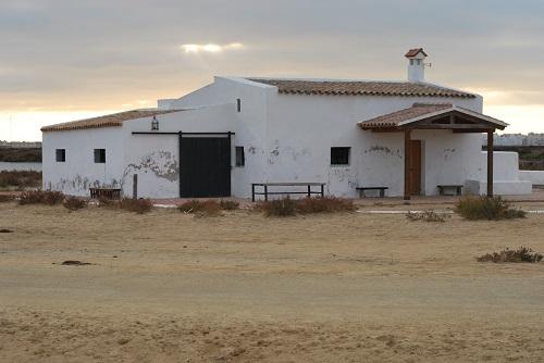 Antigua casa salinera reconstruida. Foto: Laura López
