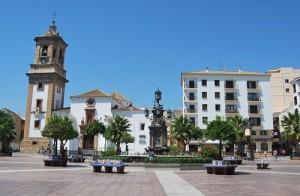 La Plaza Alta fue escenario de numerosos capítulos de la vida del desaparecido artista. Foto: Laura López