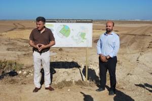 Federico Fernándes y Francisco Armenteros presentando el proyecto. Foto: Laura López
