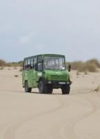 Travesía en todoterreno por las dunas de Doñana. Foto: Laura López