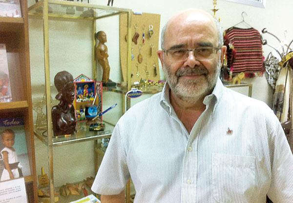 José María Viadero afirma que «una mirada a África debería ser una mirada a nosotros mismos», son felices con muy poco. / E.O.