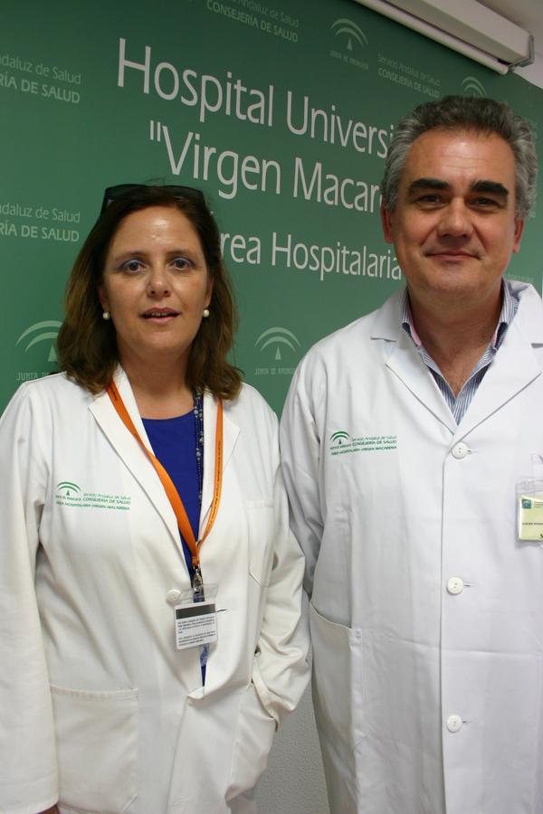 Marisa Balsera y José Salvador Alegre, dos de los autores del estudio. / El Correo