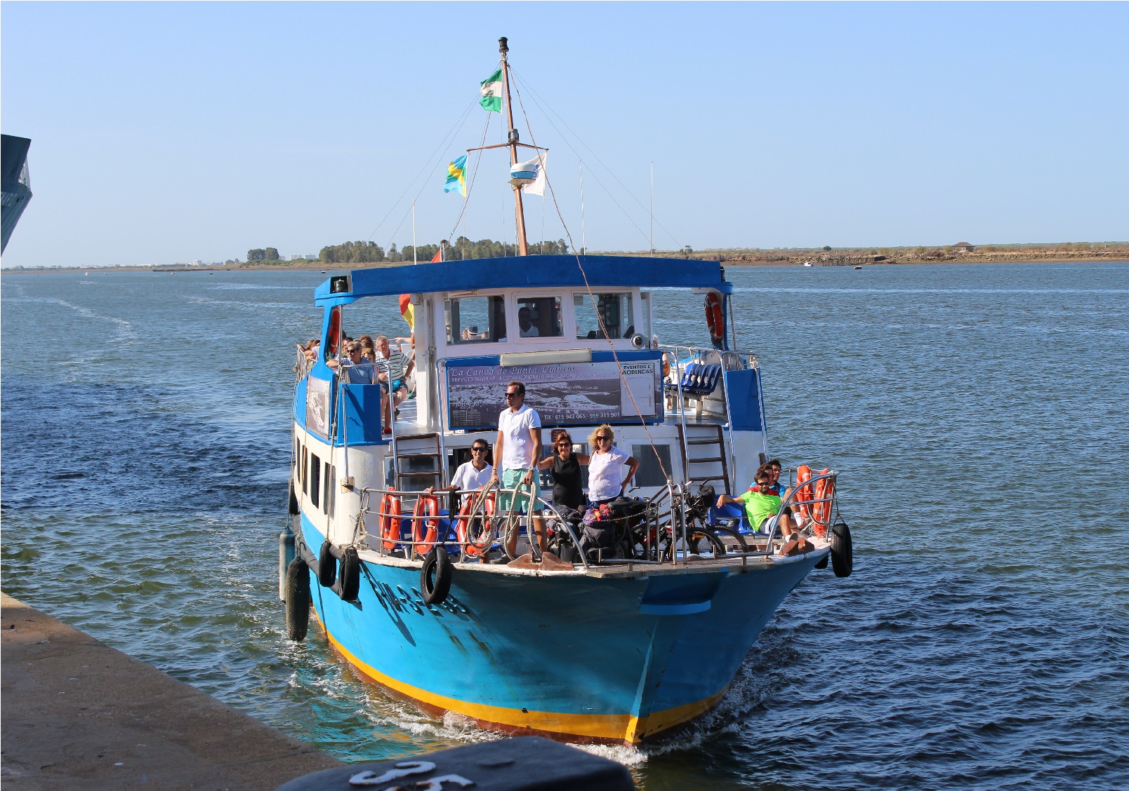 Canoa de Punta Umbría / M. Bautista
