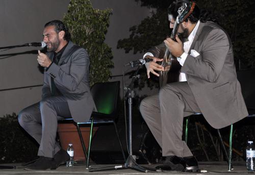 Pedro el Granaino en el Festival Flamenco de Tomares