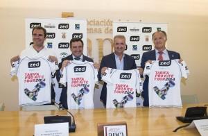 Presentación del Mundial de Kiteboard en la Asociación de la Prensa de Cádiz. Foto: El Correo