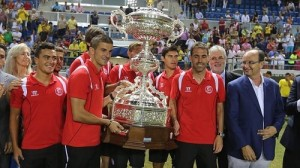 El Sevilla F.C. fue el ganador del Trofeo en la pasada edición de 2013. Foto: El Correo