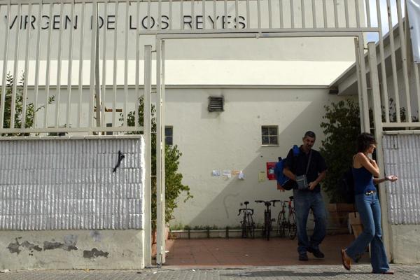 Centro deportivo Virgen de los Reyes. /Antonio Acedo