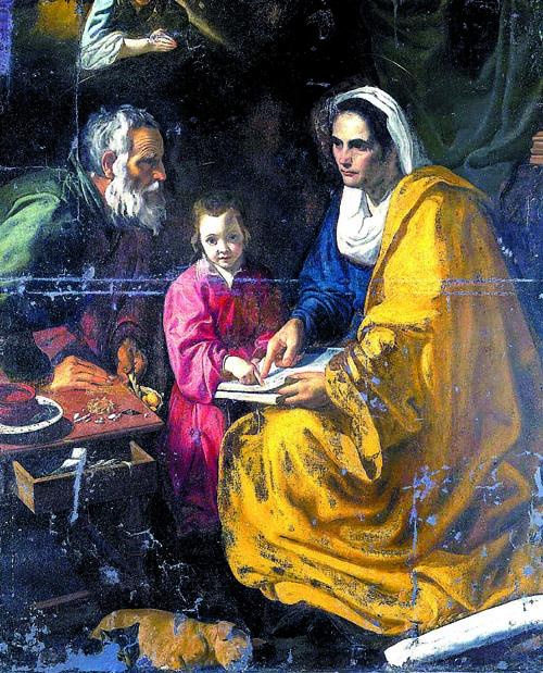 La muestra supondrá el regreso a Sevilla de La educación de la Virgen, tras su atribución a Velázquez después de pasar 80 años olvidado en los sótanos de Yale.