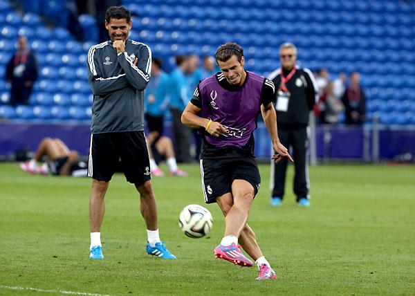 Gareth Bale jugará en casa. / EFE