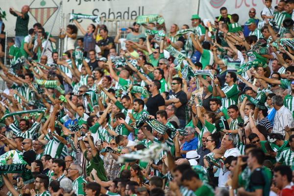 Sabadell 24/08/2014 Betis - Sabadell