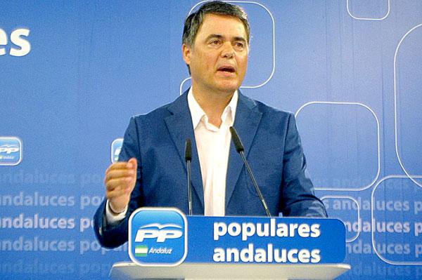 El portavoz del PP-A, Carlos Rojas. / E.P.
