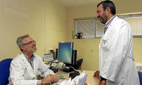Primer paso: la consulta de la Unidad de Nutrición y Endocrinología. Foto: J.L. Montero