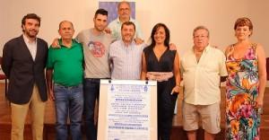 Presentación de la 'Gran Coquiná' en el Ayuntamiento de El Puerto. Foto: El Correo