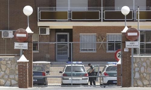 Cuartel de la Guardia Civil de El Ejido a donde ha sido trasladado el detenido. Foto: Efe