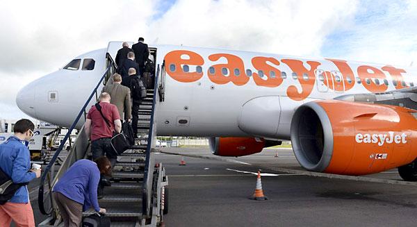 Un vuelo de la compañía Easyjet. / EFE