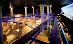 El Yacimiento de Gadir se encuentra a nueve metros bajo el antiguo Teatro El Cómico. Foto: El Correo