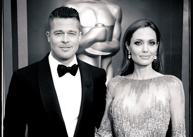 Angelina Jolie y Brad Pitt. / GETTY