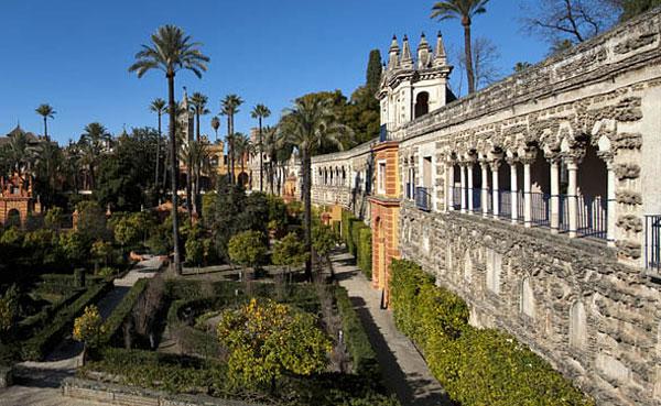 La Galería delGrutesco mira hacia los jardines del palacio. / El Correo