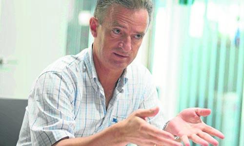 José María Rodríguez García, director gerente de la fábrica de Heineken España en Sevilla. / J.M. Paisano